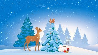 "Christmas music, Instrumental Christmas music ""Christmas Winter Woods"" by Tim Janis"