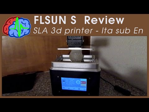 FLSUN S - SLA 3d printer Review - sub EN