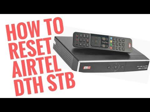 How to Reset Airtel DTH Set Top Box EA0036
