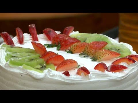 How to make Fruit Gateau Cake - Redpix Good life