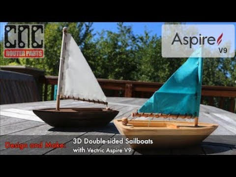 Design and Make Double-Sided 3D Products with Vectric Aspire V9 (Full Walkthrough)