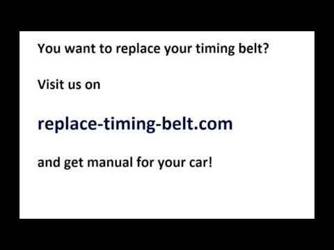 Timing belt replacement on Vauxhall/Opel Corsa C 1 4 i 16V Z14XE Manual