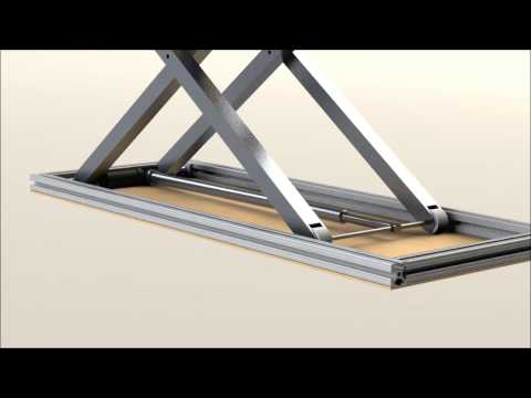 Scissor Lift Design (Solidworks)