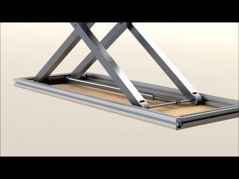 Scissor Lift Design (Solidworks)