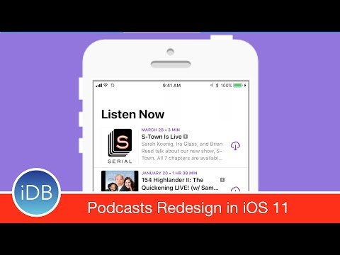 Hands On: New Podcasts App Redesign in iOS 11