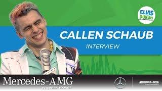 Callen Schaub Turns Negative Comments Into Art | Elvis Duran Show