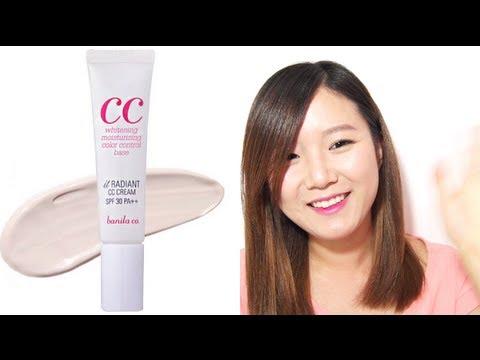 CC Cream Review & Comparison with BB Cream (Banila Co. It Radiant CC Cream) 씨씨크림 리뷰
