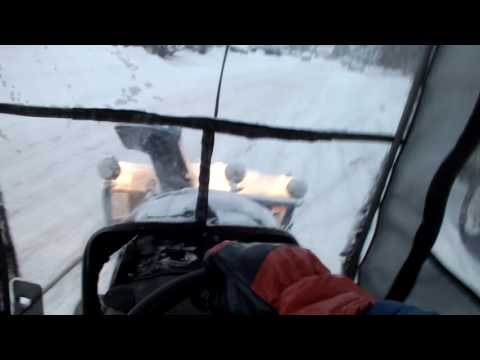 Christmas Snowblowing with Craftsman GS6500