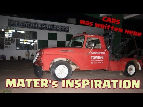 THIS IS WHERE DISNEY'S CARS was MADE (RADAITOR-SPRINGS)