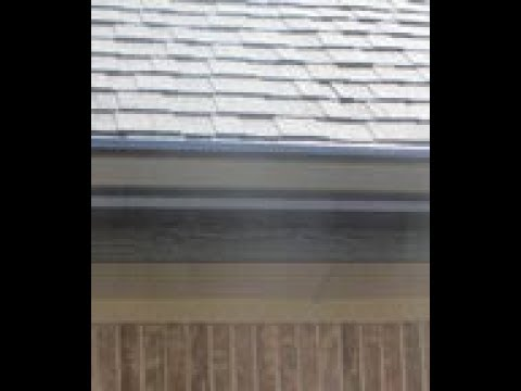 Wind Noise From Gutter Inside the Home