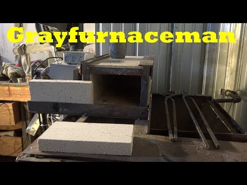 The firebrick for the forge from a furnace #4