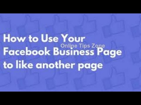 How to Facebook Page for Comment