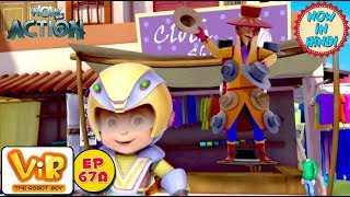Vir: The Robot Boy | VIR Vs Mr. Hat | As Seen On HungamaTV | WowKidz Action