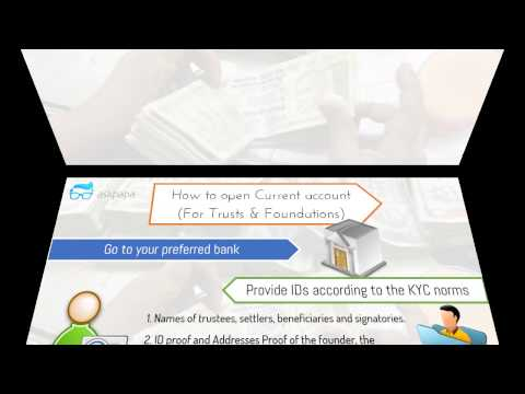 Opening a Current Account for Trust & Foundations (Shortest Video)