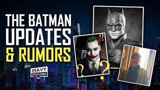 BATMAN 2021 UPDATE: Commissioner Gordon, Firefly Rumors, Johnny Depp Joker? Riddler Sidekick & More