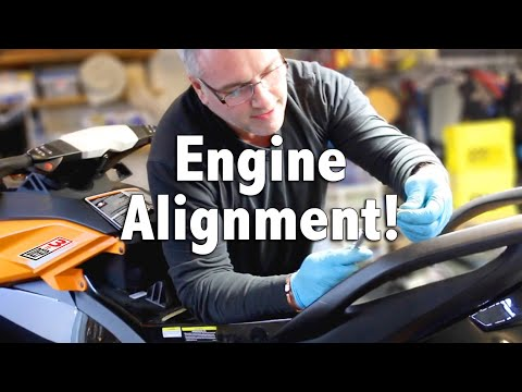 How To: Engine Alignment on a Sea-Doo PWC