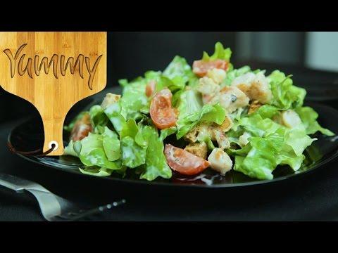 Caesar Salad Easy Recipe   Yummy