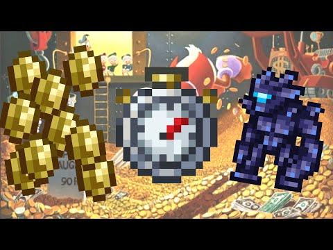1.3.4 Terraria Gold Farm - 12 gold a minute!