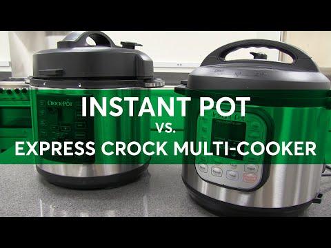 Face-Off: Instant Pot vs. Crock Pot Multi-Cooker | Consumer Reports