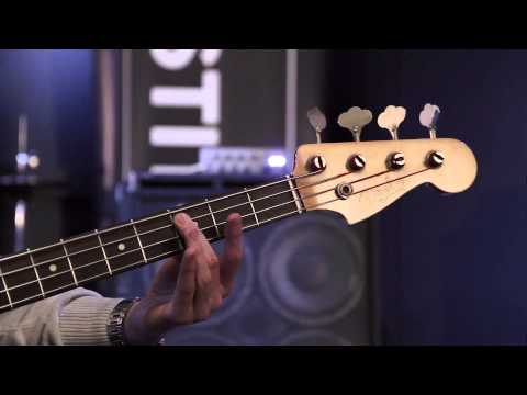 Bass guitar scales 1 - How to play bass guitar lesson three