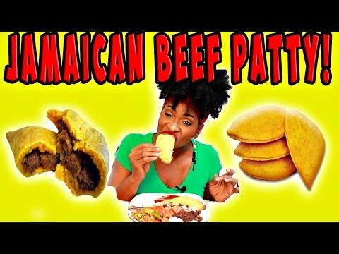 MUKBANG: JAMAICAN BEEF PATTY! COOK WITH ME! YUMMYBITESTV