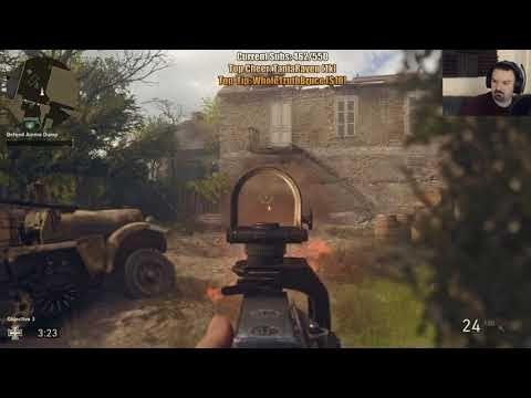 COD WW II MY BEST SESSION EVER! pt25