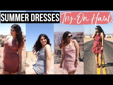 SUMMER CLOTHING TRY ON HAUL   Size 8, 10 US   Speechless Dresses Festival Collection