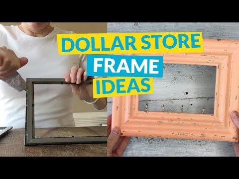 5 Dollar Store Frame Ideas