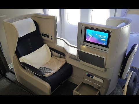 British Airways 747 Business Class. Who designed this seat??