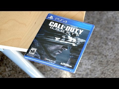 Call of Duty: Ghosts Unboxing - PS4