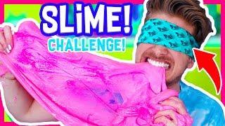 BLINDFOLDED SLIME CHALLENGE!