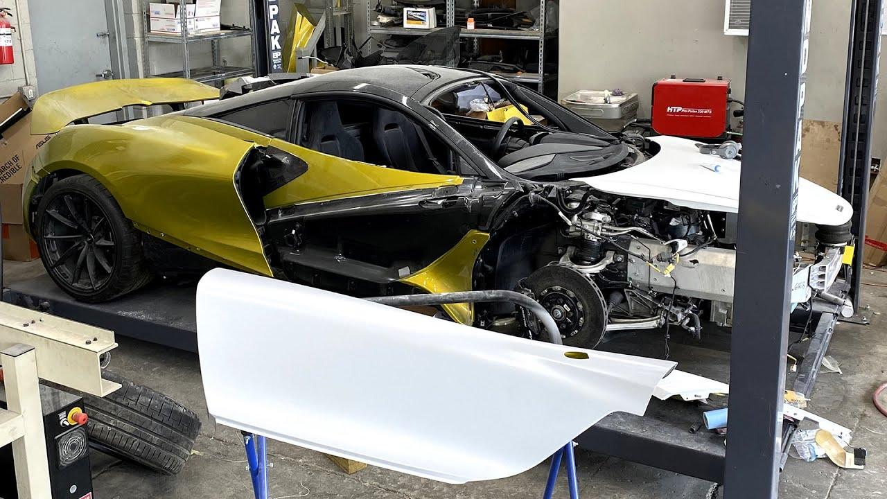 I saved my $5000 McLaren 720s doors - Episode 19