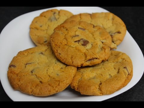 Tesco's Milk chocolate chip cookie mix Cookies - quick & easy!