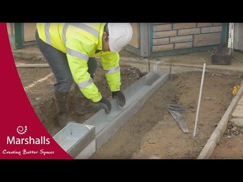 How to Install Marshalls Slot Drain | Linear Drainage | Marshalls
