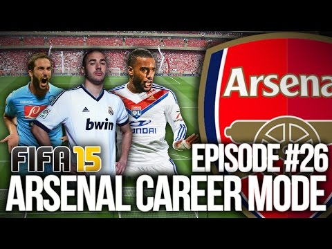 FIFA 15: ARSENAL CAREER MODE #26 - PICK A STRIKER!