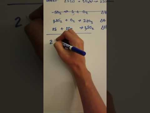 Finding delta H of a reaction