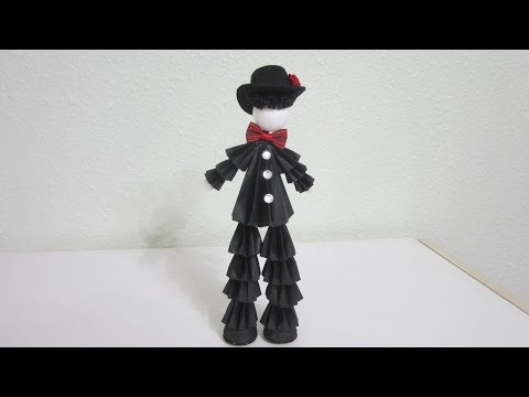 TUTORIAL - 3D Paper Doll Tuxedo