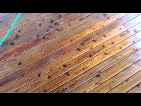 How to strip and stain a deck