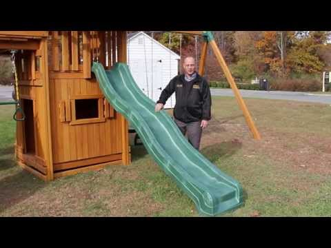 Swing Set Slides: 10-Foot Wave Slide