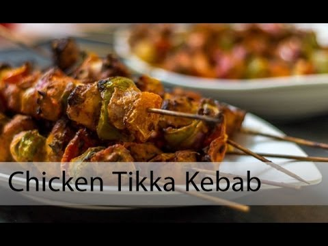 Chicken Tikka Kebab By Sharmilazkitchen (Oven And Microwave Method)