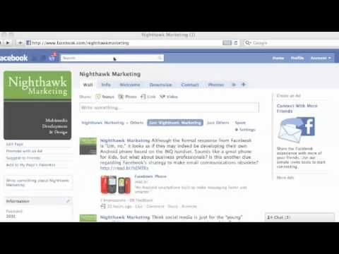 How to Create your Facebook Fan Page URL