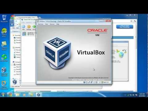 VirtualBox and Windows 7 x64 Install