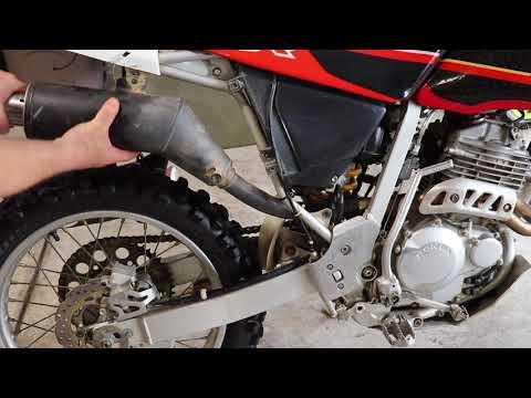 Honda XR250R Street Legal Part 2 : Pro Circuit Exhaust Slip-On