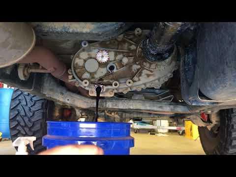Jeep JKU Rubicon transfer case fluid change