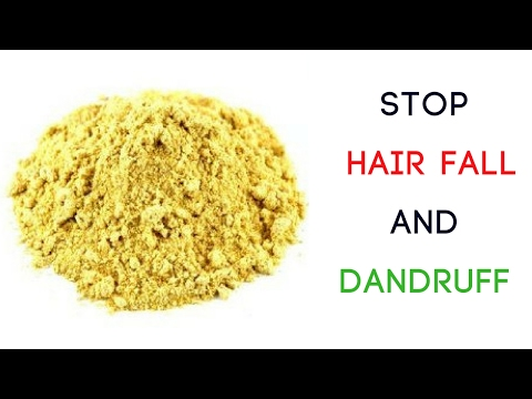 How to prevent hair loss And Dandruff Naturally | 100% Works