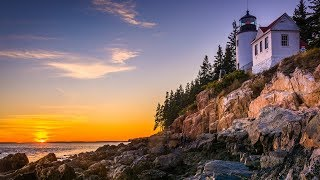 "Peaceful Music, Relaxing Music, Instrumental Music ""The Rocky Coast of Maine"" by Tim Janis"