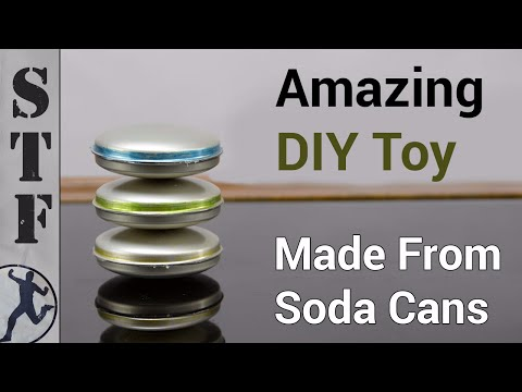 Make an Awesome Spinning Toy From 6 Soda Cans