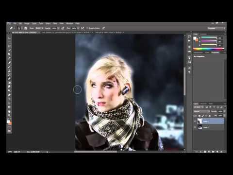 Photoshop Photo Manipulation & GIF Tutorial
