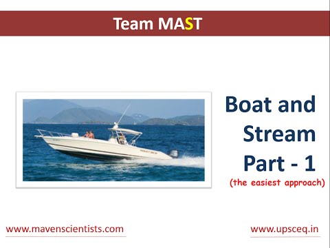Boats and Streams - Concepts and Tricks (easiest approach) - Part 1 | Team MAST