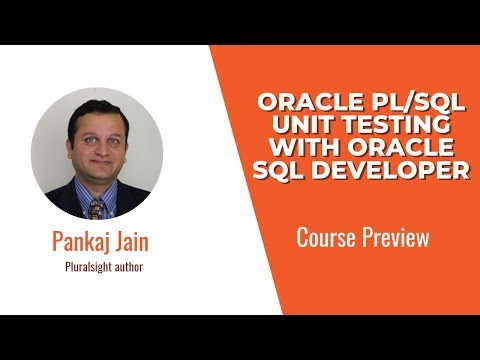 Course Preview: Oracle PL/SQL Unit Testing with Oracle SQL Developer